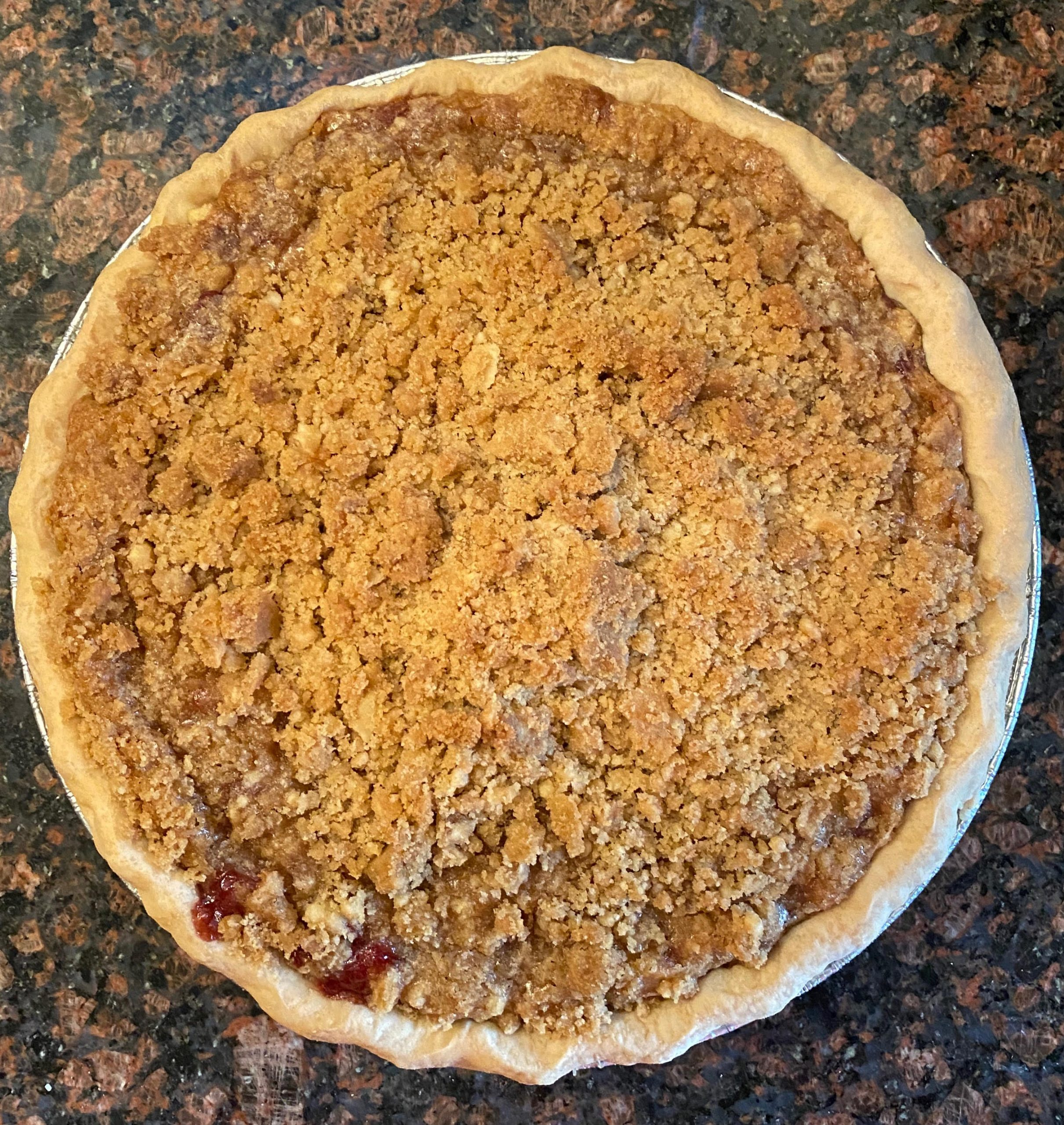 Crumb-Top Pie