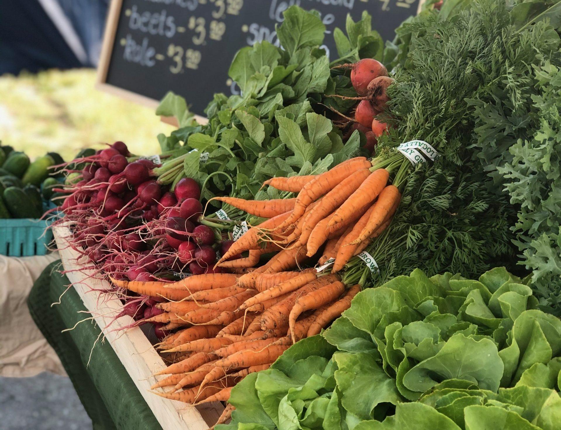 Goshen Market is Back! Saturdays 8-Noon